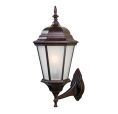 """$52.00  20.5"""" tall View the Acclaim Lighting 5250/FR Richmond 1 Light Outdoor Lantern Wall Sconce with Frosted Glass Shade at Build.com."""