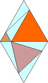 Visual proof of the Eutrigon Theorem. Detailed explanation here.