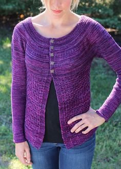Ravelry: Coming Home Cardigan: All Grown Up pattern by Aimee Alexander