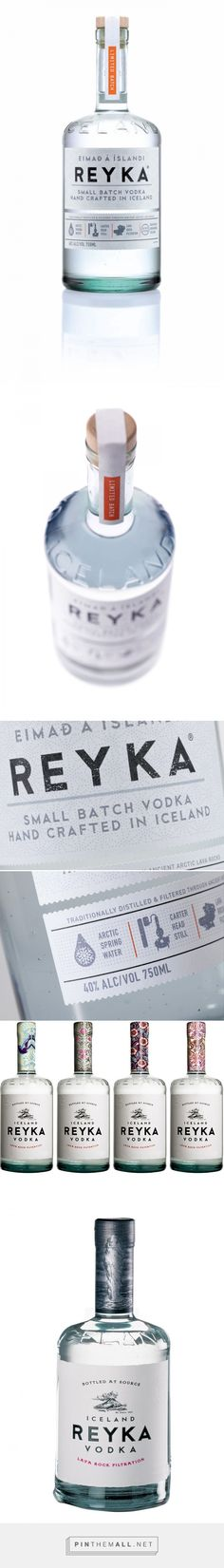 Before & After: Reyka — The Dieline - Branding & Packaging - created via http://pinthemall.net