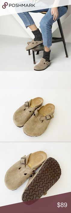 e293fe313e61 NEW Birkenstock Boston suede leather clog size 36 New. Never worn. No box.