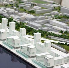 architectural model of city 3d Modelle, Urban Design, Architecture, City, Board, Room Layouts, Maquette Architecture, Arquitetura, Cities
