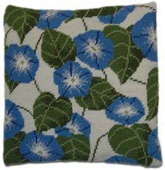 Morning Glory Herb Pillow Tapestry