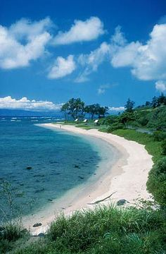 Waialua Beach Park on the island of Molokai - good snorkeling