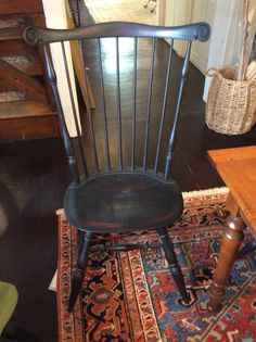 """Nantucket Side Chair from Warren Chair Co. Overall a smaller seat width and depth compared to the Wayland. SD: 14.5  SW: 19.5"""" H: 40.5"""" SH 17.5 (on sale at Leonards 9.30) Would need touch up/ refinishing. $663 net"""