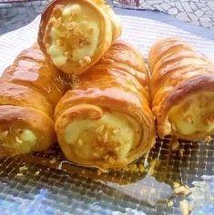 Greek Sweets, Greek Desserts, Greek Recipes, Food Network Recipes, Cooking Recipes, Greek Pastries, The Kitchen Food Network, Baklava Recipe, Secret Recipe