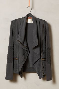 Converge Quilted Moto Cardigan - anthropologie.com