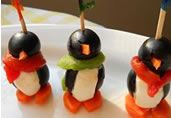 Cream Cheese Penguins- Definitely going to try these!