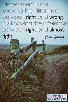 Words on Wednesday - On Discernment (Step Father Words) Discernment Quotes, Spiritual Discernment, Faith Quotes, Words Quotes, Wise Words, Life Quotes, Sayings, Great Quotes, Quotes To Live By
