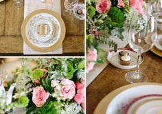 Bridal Luncheon Inspiration | A Charleston Bride | CarolineRo Photography | 428 Main Vintage Rentals