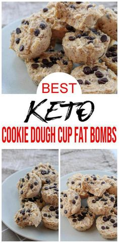 I love cookie dough and love to try different ways to make keto cookie dough. Keto Cookie Dough, Cookie Dough Recipes, High Fat Keto Foods, Keto Fat, Keto Chocolate Chip Cookies, Keto Cookies, Coconut Recipes, Low Carb Recipes, Paleo Recipes