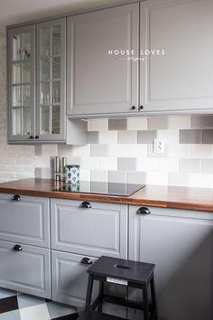 - Home Fashion Trend Bodbyn Kitchen Grey, Taupe Kitchen, Grey Kitchen Designs, Rustic Kitchen Design, Kitchen Room Design, Home Decor Kitchen, Kitchen Interior, New Kitchen, Grey Ikea Kitchen