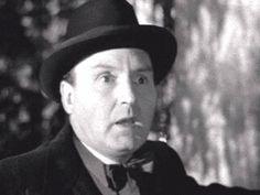 Professor Harrington (Maurice Denham) looking in horror as he sees the demon coming towards him - Night of the Demon (1957)