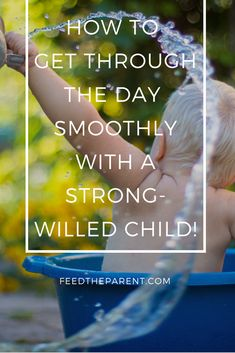 Here are my tried and tested techniques to get through the day smoothly with your stubborn, strong-willed or difficult child.  Feedtheparent blog  #parentingtips #parentingadvice #parents #children #toddlers #kids #advice