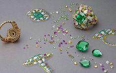 Victoire de Castellane for Dior - by Laziz Hamani for Magazine Dior w/ Thomas Lenthal Dior Jewelry, Jewelry Model, Gems Jewelry, Fashion Jewelry, Diamond Jewelry, Fashion Accessories, Jewellery Sketches, Jewelry Drawing, Jewelry Sketch