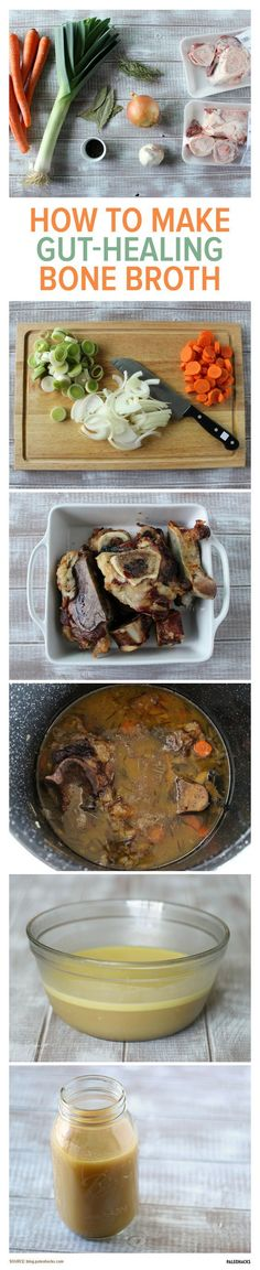Looking for a savory bone broth recipe? Look no further: this bone broth recipe is the only one you will ever need. The recipe packs a thick gelatinous broth filled with minerals and healing properties that many cultures have believed in for thousands of years. For the full recipe visit us here: paleo.co...