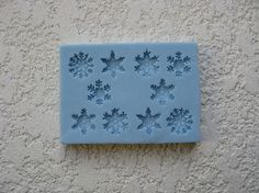 Assorted Snowflakes Mold