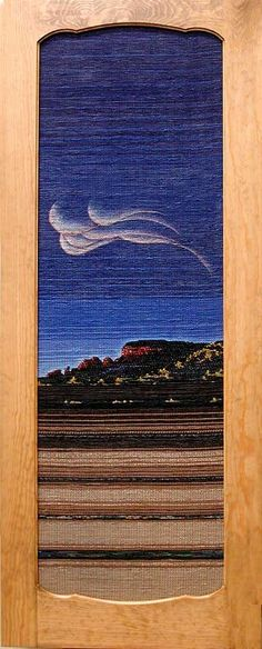 Cloud and Mountain Door by Caroline Rackley from Sapello, New Mexico