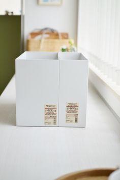スタンダードは、生活感が出てしまう雑貨や小物類もすっぽり隠して収納できるので見た目に美しいのが◎。