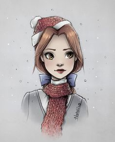 Belle in winter by natalico on @DeviantArt