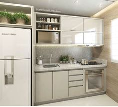 This pin of kitchen design & decor found on Hometalk and around the web. Brought to you by Kitchen Lovers! Basement Kitchen, Apartment Kitchen, Apartment Design, Kitchen Decor, Kitchen Clean, Compact Kitchen, Contemporary Kitchen Design, Interior Design Kitchen, Kitchen Designs