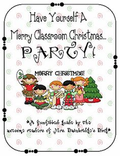 Hey Room Moms- Heres some great ideas for the Class Christmas Party