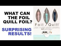 Solid Foiled Images Using the Scan N Cut and the Foil Quill Design Thumb Drive - Part 2 Craft Foil, Scan N Cut Projects, Deco Foil, Swing Design, Whole Image, We R Memory Keepers, Brother Scan And Cut, Silhouette Machine, Quilling