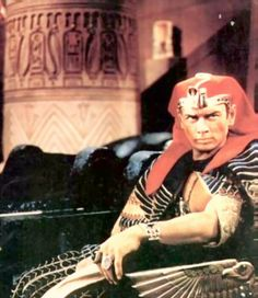 Yul Brynner    The Ten Commandments  Ramases II
