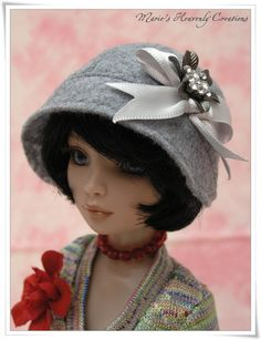 OOAK Hat for Ellowyne doll