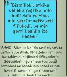 Allahin ismiyle seni muhafaza ederim.. ~ Kuaza