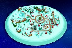 Cartoon Christmas Farm low-poly model rigged animated ready for Virtual Reality (VR), Augmented Reality (AR), games and other real-time apps. Christmas Farm, Ribbon On Christmas Tree, Christmas Items, Christmas Tree Decorations, Watermelon Farming, Farm Cartoon, Types Of Grass, Hand Painted Textures, Pumpkin Farm