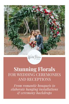 Head to the Wild Flora Farm website to book your floral consult today. They design all the wedding and event florals at The Barn of Chapel Hill and also love to travel - flowering events throughout North Carolina and the Southeast. From romantic, garden-inspired bouquets to elaborate hanging installations and ceremony backdrops, beautiful floral design is what Wild Flora Farm does best. Wedding Hair Flowers, Flowers In Hair, Wedding Bouquets, Floral Centerpieces, Wedding Centerpieces, Flower Arrangements, Farm Wedding, Wedding Ceremony, Backdrops Beautiful