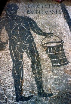 a floor in Ostia Antica