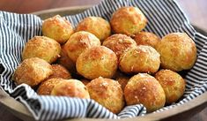 Our recipe for classic gougeres - that's French for cheese puffs - with black truffle butter is completely irresistible and a cocktail hour favorite. Truffle Butter, Black Truffle, Truffle Oil, Recipe D, Butter Recipe, Recipe Ideas, Gougeres Recipe, French Cheese, Cheese Puffs