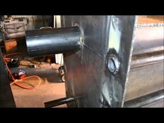 HILTON gasification wood boiler - YouTube