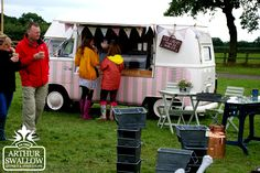 Cheshire Showground Salvage Show 2013 ice cream van ~ wedding hire http://www.pollys-parlour.co.uk/