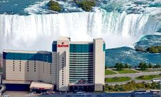 Groupon - Stay with Dining Credits at Marriott Niagara Falls Fallsview Hotel & Spa in Ontario. Dates Available into January. in Niagara Falls, ON. Groupon deal price: $129