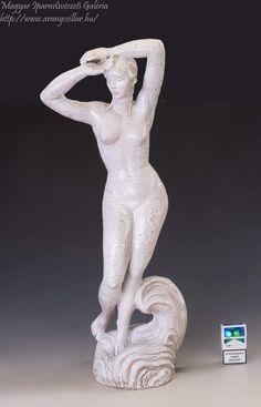 Garden Sculpture, Nude, Ceramics, Statue, Outdoor Decor, Artist, Hall Pottery, Pottery, Ceramic Art