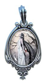 Art Pendant - Alone by Amy Brown
