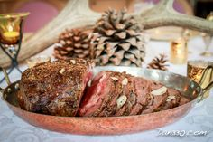 Prime Rib is the Best Christmas Dinner Idea Boneless Prime Rib Recipe, I Love Food, Good Food, My Favorite Food, Favorite Recipes, Breakfast Strata, Beef Recipes, Recipies, Christmas Fun