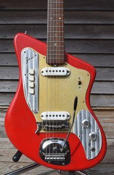 Kids Electric Guitar With Amp Electric Guitar Tuner Plug In Electric Guitar Tuner, Vintage Electric Guitars, Cool Electric Guitars, Vintage Guitars, Japanese Guitar, Sparkle Paint, Cool Guitar, Guitar Wall, Guitar Body