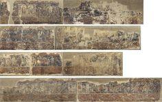 Pintures profanes de Sixena - Anònim. Aragó | Museu Nacional d'Art de Catalunya