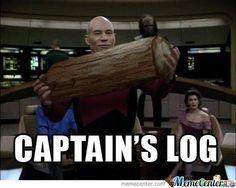 Captain's Log  Captain Picard Start Trek