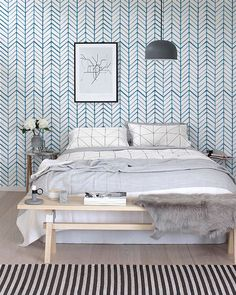 removable wallpaper self adhesive wallpaper herringbone wallpaper modern wall covering 026 snow