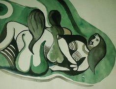 Modern Indian painting By- ANURAAG Saikia
