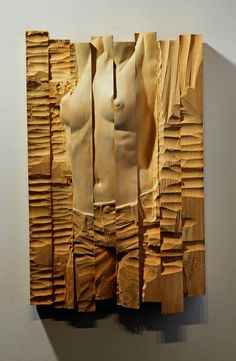 "Saatchi Art Artist: BEN WANG; Wood 2013 Sculpture ""PRISMA NO.2"""
