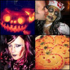 The four winners! #halloween #ReverbWeen #pumpkins #instagram #spooky #scary #zombie #gross #sugar #cookies #sugarcookies #reverbnation