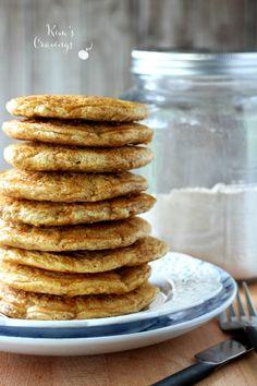 Whole wheat pancakes + instant mix