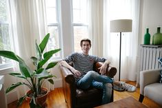 """""""I get a lot of inspiration from Boston and the whole preppy aesthetic here, even though I've traded in my Bean boots for a pair of Stan Smiths. I love the Boston Athenaeum because of how bright and full of historical details and pieces it is, all without feeling stuffy — I'd live there in a heartbeat. I get inspired a lot when I travel too. I've been spending a lot of time in Scandinavia lately, so there's bits of that too."""""""