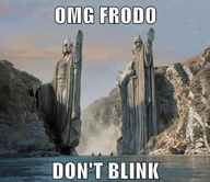 Would have made LOTR soooo much better!!